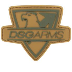 DSG Cut Thru PVC Patch - Tan/Olive Drab Green