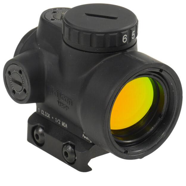Trijicon 1x25 MRO - 2.0 MOA Adjustable Red Dot w/Low Mount