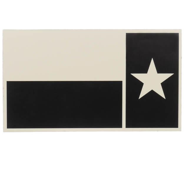 IR Tools IR Texas State Flag Reverse - Tan/Black