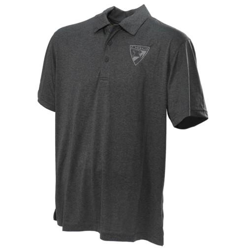 DSG Arms Mens Badge Polo Shirt - Graphite