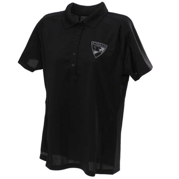DSG Arms Ladies Badge Polo Shirt - Black