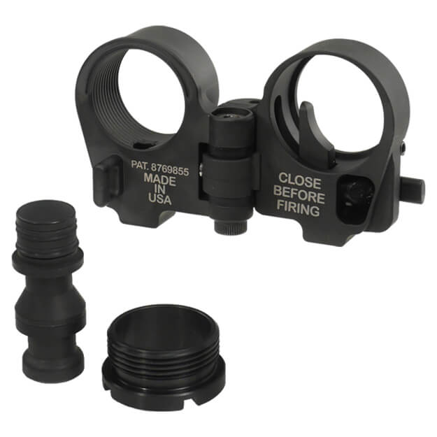 Law Tactical Folding Stock Adapter - Gen 3-M - Black