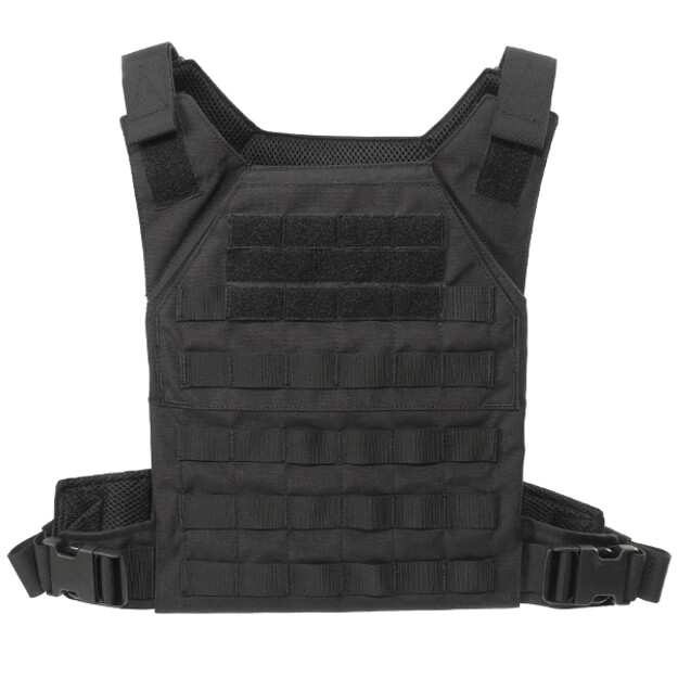 Grey Ghost Gear Minimalist Plate Carrier - Black