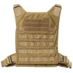 Grey Ghost Gear Minimalist Plate Carrier - Coyote Brown
