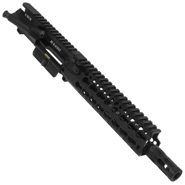 "BCM Standard 9"" 300 BLACKOUT Upper Receiver w/ 8"" KMR-A Rail"