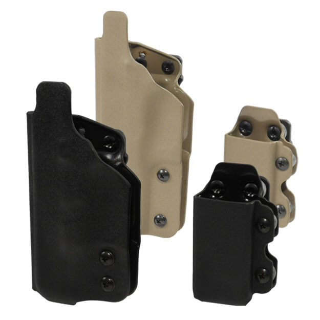 DSG CDC Holster w/CDC-M Mag Carrier Right Hand - Black