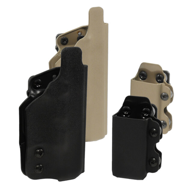 DSG CDC Holster w/CDC-M Mag Carrier Left Hand - Black
