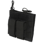 Grey Ghost Gear Double M4 and Pistol Mag Pouch - Black