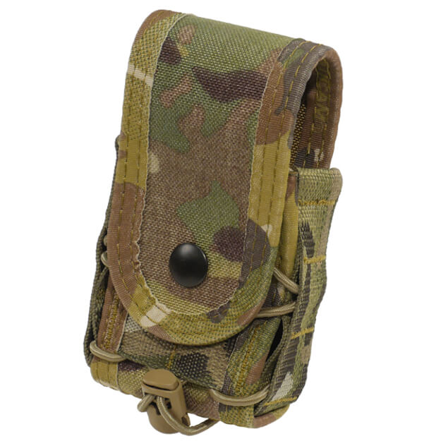 High Speed Gear Belt Mounted Handcuff Taco w/ Snap Cover - Multicam