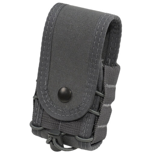 High Speed Gear Belt Mounted Handcuff Taco w/ Snap Cover - Wolf Grey