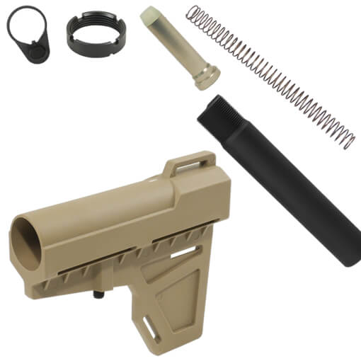 KAK Industry Shockwave Blade Pistol Stabilizer Kit - Dark Earth