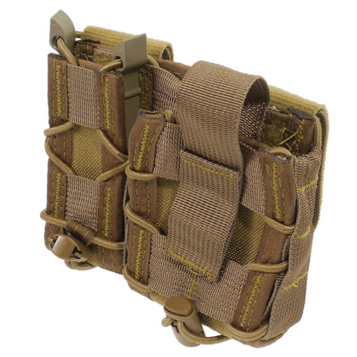 High Speed Gear Belt Mounted LEO Taco - Coyote Brown