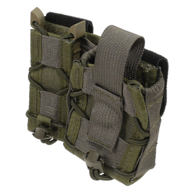 High Speed Gear Belt Mounted LEO Taco - OD Green