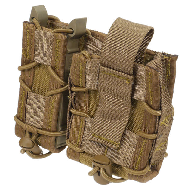 High Speed Gear MOLLE Mount LEO Taco - Coyote Brown