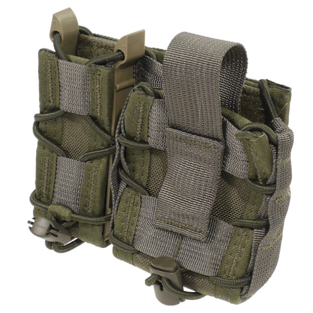 High Speed Gear MOLLE Mount LEO Taco - OD Green