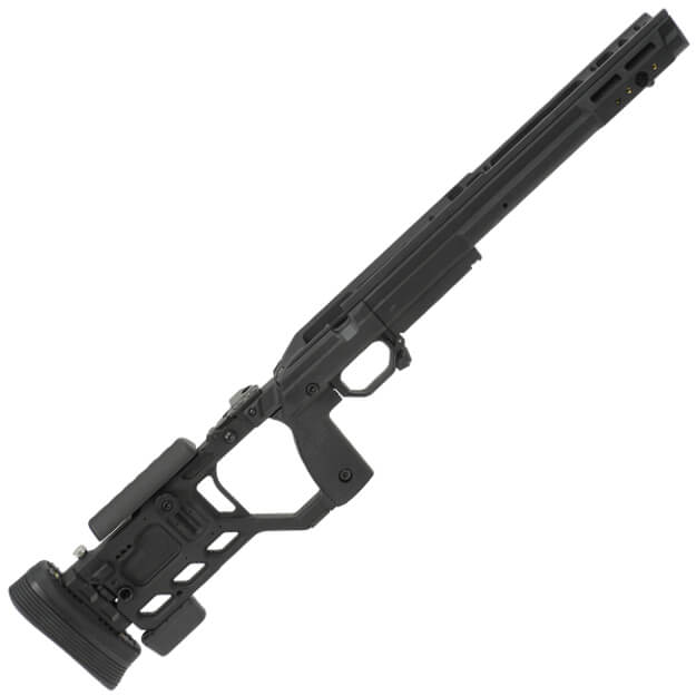 Kinetic Research Group Whiskey-3 Folding Rem 700 Short Action AICS Chassis - Black