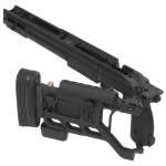 Kinetic Research Group Whiskey-3 Folding Rem 700 Long Action AICS Chassis - Black