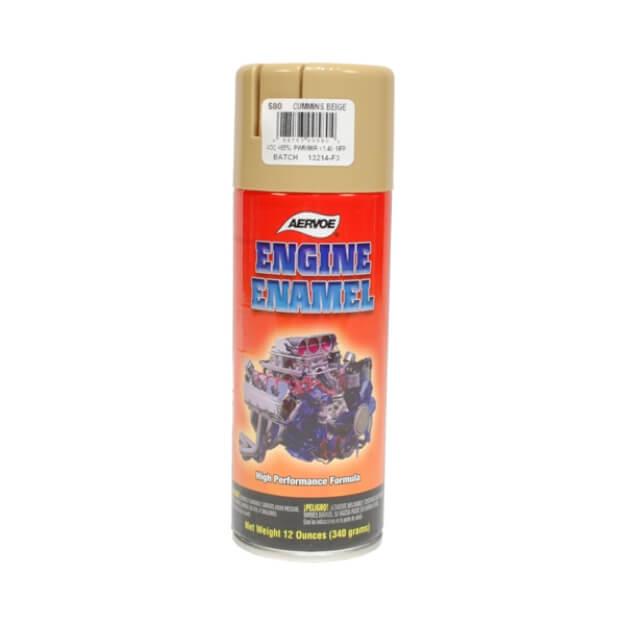 Aervoe Engine Enamel - Cummins Beige