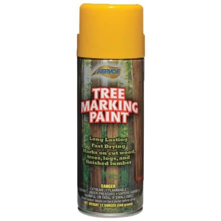Tree Marking Spray Paint - Yellow