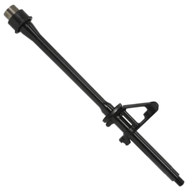 "DSG Duty Series 16"" 5.56mm 4150CMV Barrel Mid-length Gas 1:7 Twist- MPI/HPT QPQ Coated w/Pinned FSB"