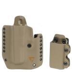 DSG Alpha Gen3 Holster w/CDC-M Mag Carrier Left Hand