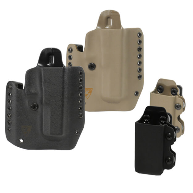 DSG Alpha Gen3 Holster w/CDC-M Mag Carrier Right Hand