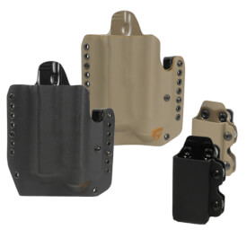 DSG Alpha Gen3 Light Holster w/CDC-M Mag Carrier Left Hand