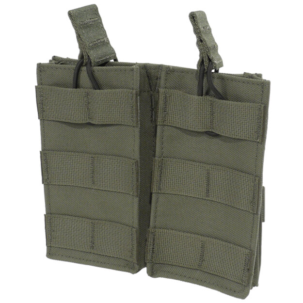 Protech Tactical TP-5A Double M4 Mag Pouch - Olive Green
