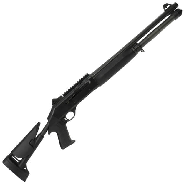 """Benelli 11715 M4 18.5"""" 12GA - Telescoping Stock Ghost Ring Night Sights - L.E.Only"""
