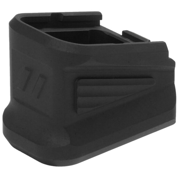 ZEV Factory Glock Magazine Extended +5 9MM Base Pad - Black