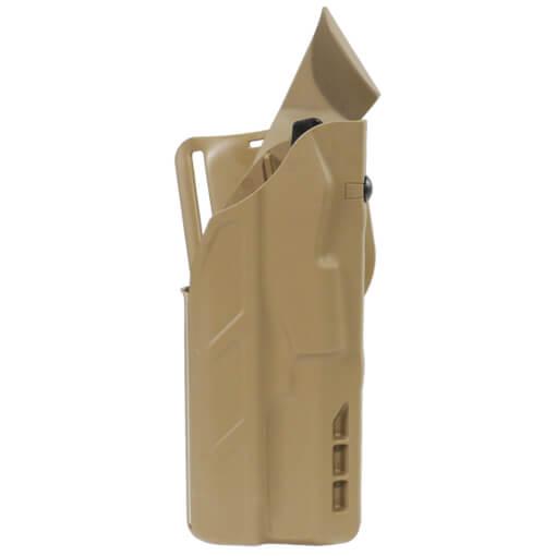 Safariland 7390 7TS ALS Lv II Tactical Holster - Tan Glock 17 w/ Light - Right Hand