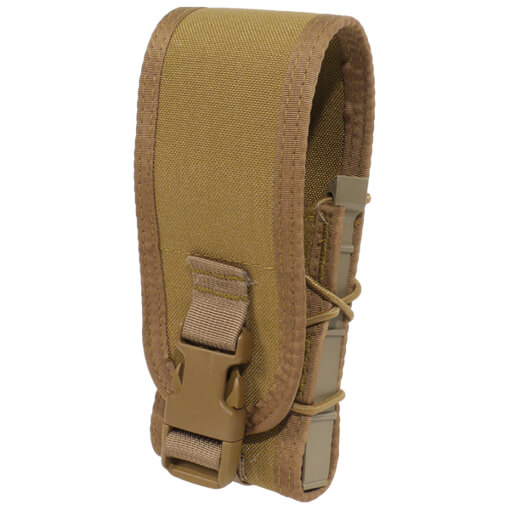 High Speed Gear Belt Mounted Rifle Taco w/ Snap Cover - Coyote Brown