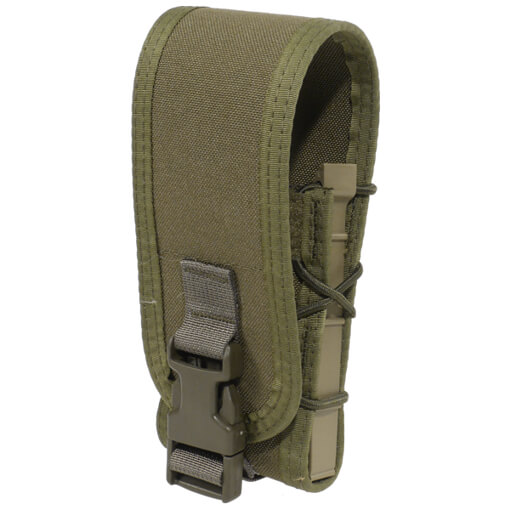 High Speed Gear Belt Mounted Rifle Taco w/ Snap Cover - Olive Drab Green