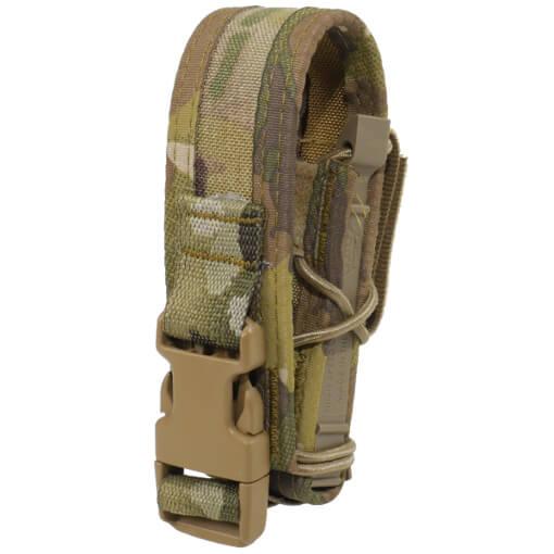 High Speed Gear Belt Mounted Pistol Taco w/ Snap Cover - Multicam