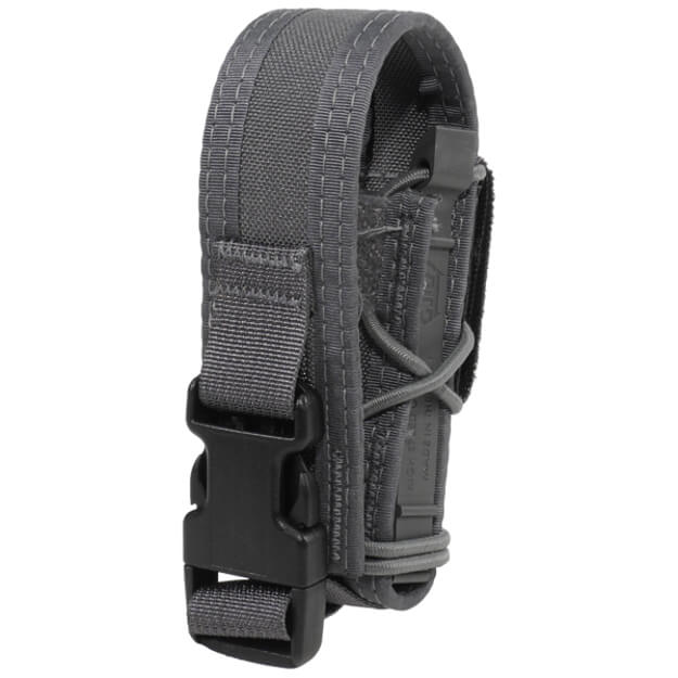 High Speed Gear Belt Mounted Pistol Taco w/ Snap Cover - Wolf Grey