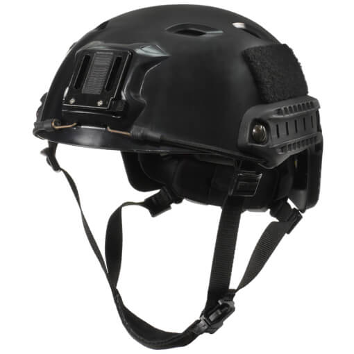 Ops-Core FAST High Cut Bump Medium/Large Helmet w/ EPP Padding & OCC Dial - Black