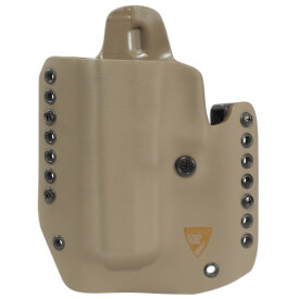 "Alpha Holster 1911 5"" w/Rail Left Hand - E2 Tan"