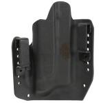 Alpha Holster Glock 43 w/TLR6 Left Hand - Black