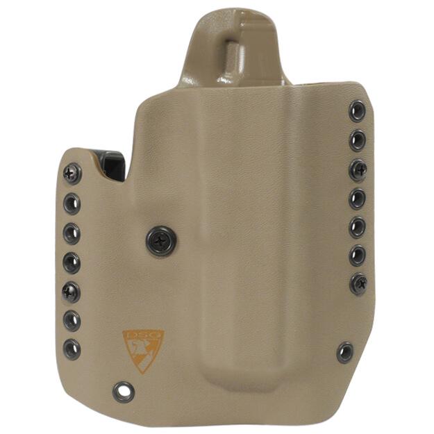"""Alpha Holster 1911 5"""" w/Rail Right Hand - E2 Tan"""