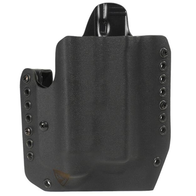 Alpha Holster Glock 17/19/22/23/31/32/47 w/TLR1 Right Hand - Black