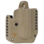 Alpha Holster Glock 20/21 Right Hand - E2 Tan