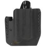 Alpha Holster S&W M&P Shield w/TLR6 Right Hand - Black