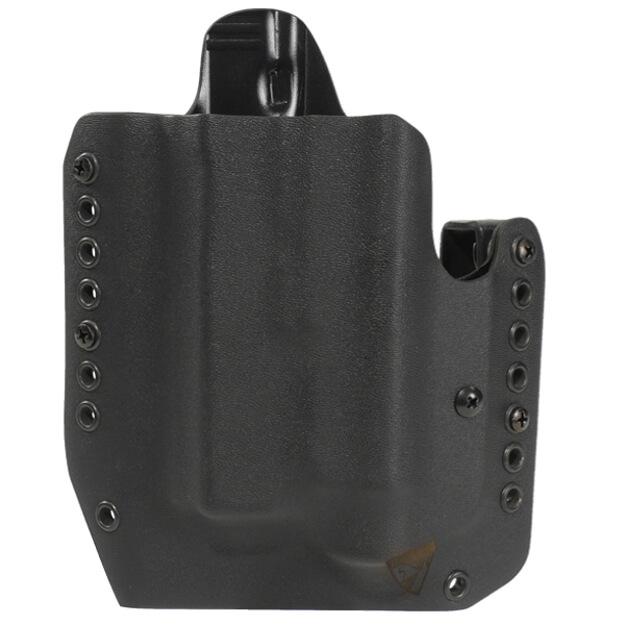 "Alpha Holster S&W M&P 4.25"" 9/40 w/X300U Left Hand - Black"