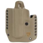 Alpha Holster S&W M&P Shield Left Hand - E2 Tan