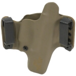 "HR Holster 1911 5"" w/Rail Left Hand - E2 Tan"