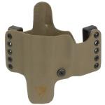 HR Vertical Holster HK USP Compact 9/40 Left Hand - E2 Tan