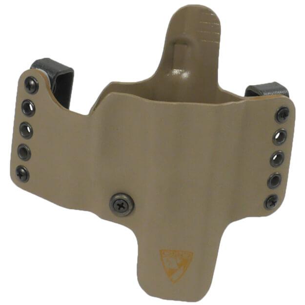 """HR Vertical Holster 1911 5"""" w/Rail Right Hand - E2 Tan"""