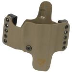 HR Vertical Holster Glock 26/27/28/33 Right Hand - E2 Tan