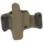 """HR Vertical Holster S&W M&P Pro 5"""" 9/40 Right Hand - E2 Tan"""