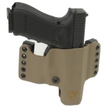 """HR Vertical Holster Springfield Armory XDM 4.5"""" Right Hand - E2 Tan"""